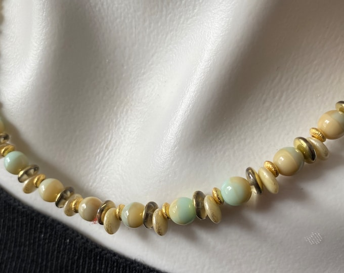 Sand and Sea Choker Necklace 1