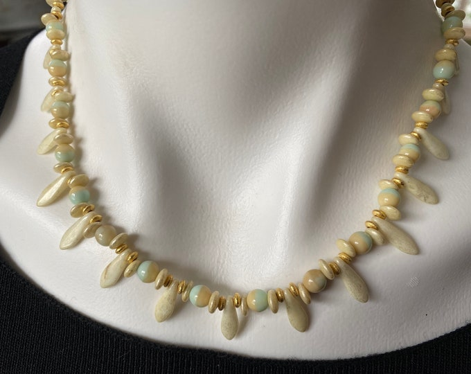 Sand and Sea Choker Necklace 2