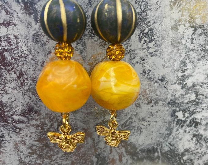 Melon and Honey earrings