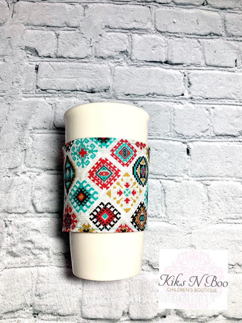 Coffee cozie coffee cozy sleeve  hot drink cold drink image 0
