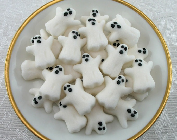 DEADLINE: Oct 22nd // 32 Ghost Shaped Sugar Cubes for Halloween