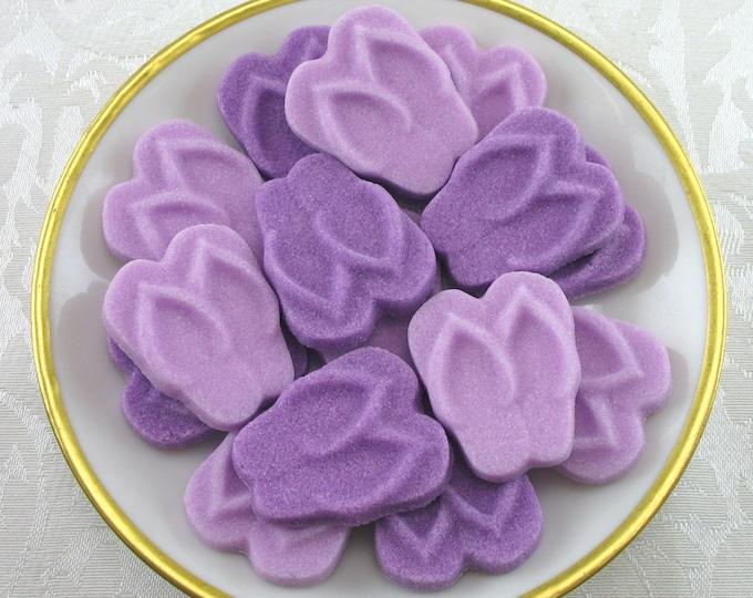 18 Amethyst Flip Flop Sugar Cubes