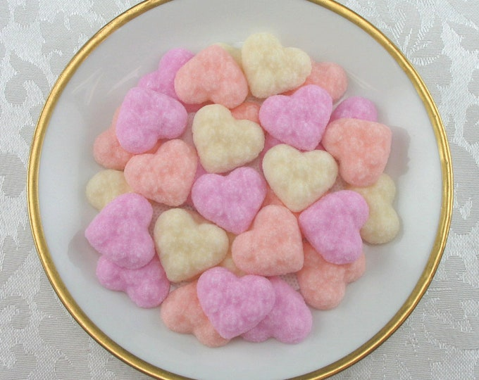 60 Ultra Thin Heart Shaped Sugar Cubes