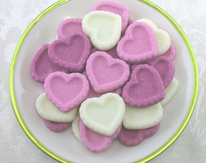 30 Heart Shaped Sugar Cubes