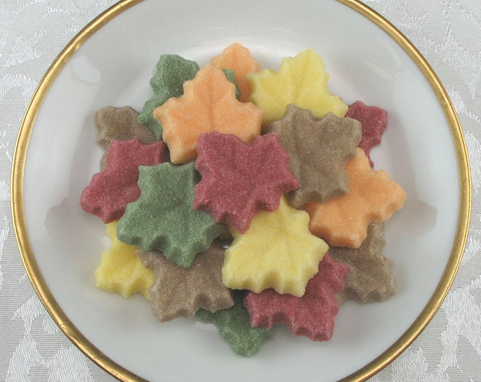 30 Maple Leaf Shaped Sugar Cubes in for All Your Fall Celebrations!