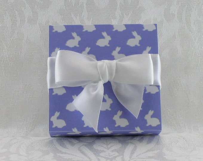 Violet Gift Boxed Bunny Sugar---Great hostess gift or gift for mom!