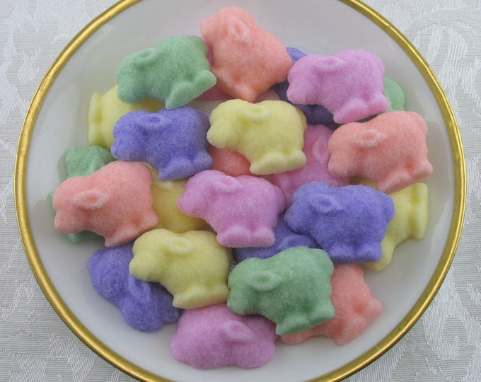 28 Little Lamb shaped sugar cubes for your Little Lamb Party