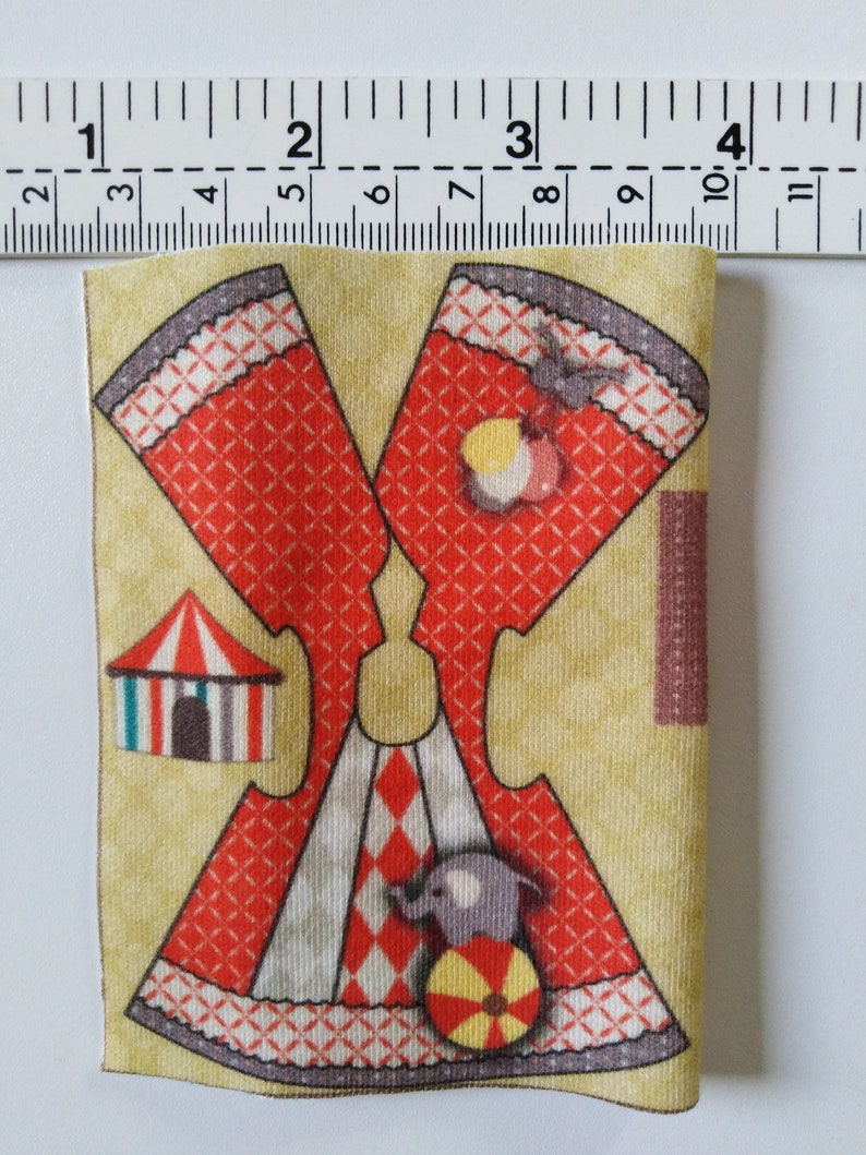 DIY 2 in 1 Special Kit for Petite Blythe Amelia Thimble Doll Clothes Kit Size 1 Fits Doll Size 4 Inch Organic Cotton Knit Fabric