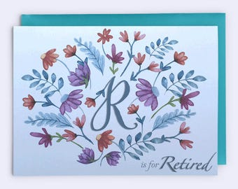 retirement card retirement wishes retirement greetings etsy