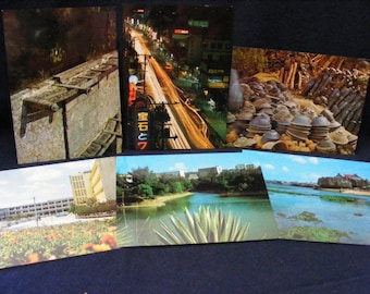 A small collection of postcards provides a flavor of Seattles charm during the early years.