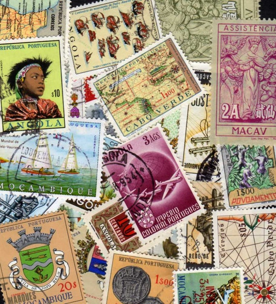 Portugal Colonies Stamps,30 Diff, Portuguese Stamps, Portuguese Postage  Stamps, Portugal Postage Stamps, Portuguese Stamps, Portugal