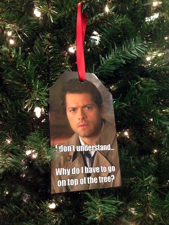 "Read Details Handmade /""Supernatural /"" Christmas Ornament"