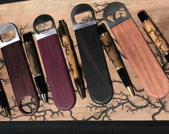 Wood Bottle Openers