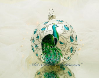 CHRISTMAS ORNAMENT Peacock