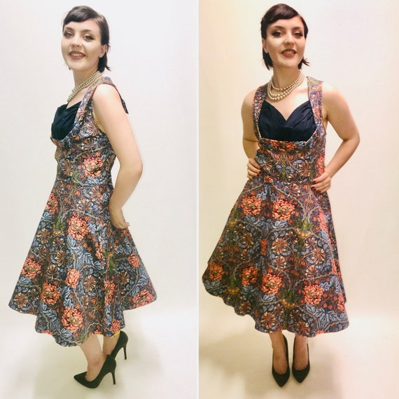 858161c02f6c Vintage style Dress lindy bop dress size 16/18 floral | Etsy