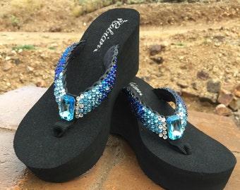 aed2254d75b0f3 Bermuda Blue Rockstar Sparkle Steps