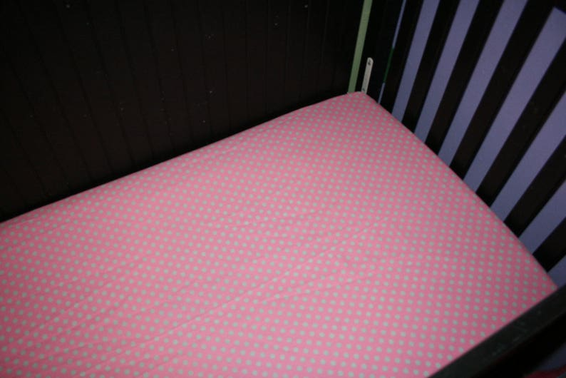 My Little Pony All Over Ponies Fitted CribToddler Bedding Items~Custom Made~