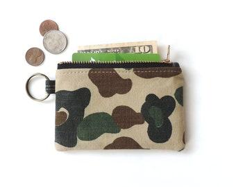 Camo coin purse | Etsy