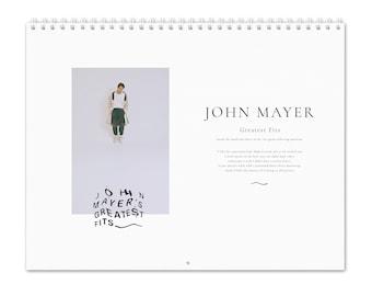 John Mayer Vol.1 -  2022 Wall Calendar