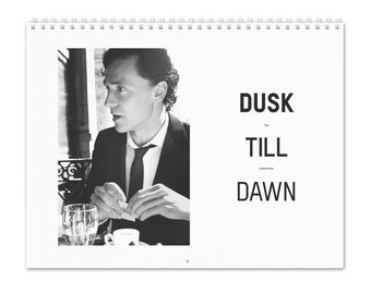 Tom Hiddleston Vol.2 - 2022 Wall Calendar