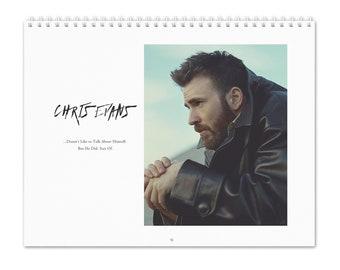 Chris Evans Vol.1 - 2022 Wall Calendar
