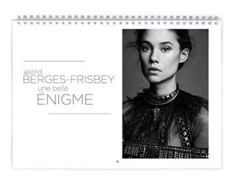Astrid Berges-Frisbey - 2018 Calendar