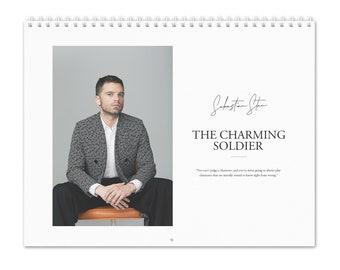 Sebastian Stan Vol.1 - 2022 Wall Calendar