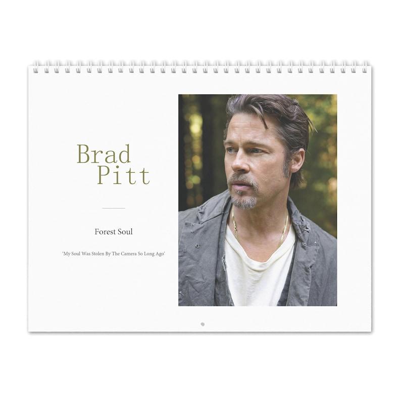 Pitt Calendar 2020 Brad Pitt Vol.1 2020 Wall Calendar | Etsy
