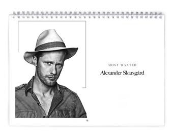 Alexander Skarsgard Vol.1 - 2018 Calendar