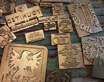 Custom Leather Stamp