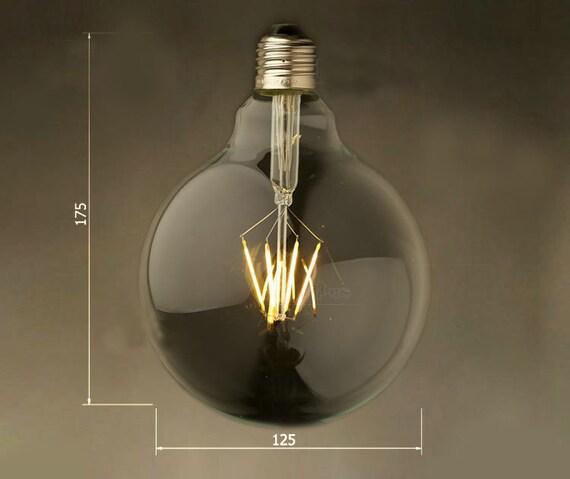 bulb led home E27 bulb lamp LED lamp decor edison glass style H125 Super 4w Vintage Large light your 6w globe desiger EDWH29IY