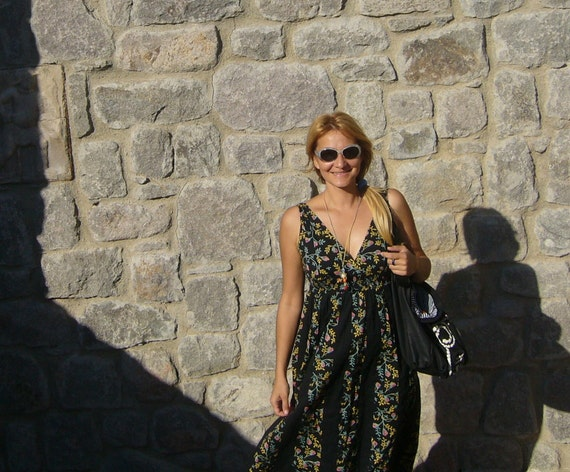 Retro sunglasses vintage/sunglasses round/variega… - image 5