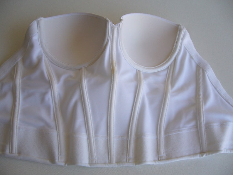 White bustier,white corset sateen,bridal corset vintage