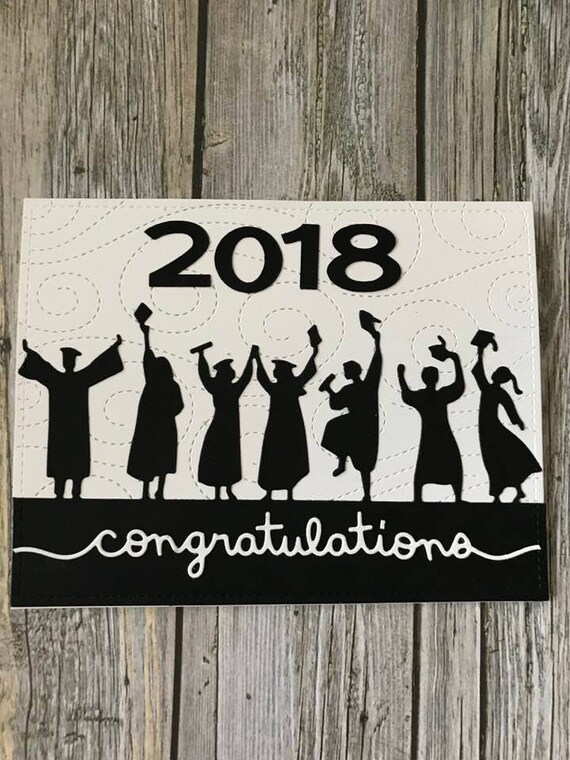 Handmade Graduation Card Handmade College Graduation Etsy