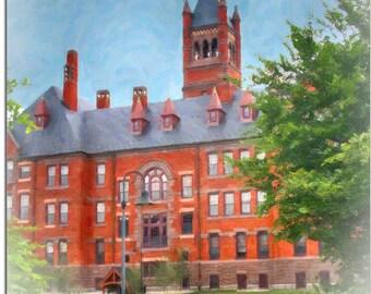 Historic Glatfelter Hall, Gettysburg College, Gettysburg, PA