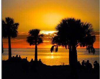 Sunset Beach Evening Show, Tarpon Springs Florida