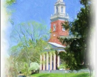 Swasey Chapel, Denison University, Granville, Ohio, Spring Day