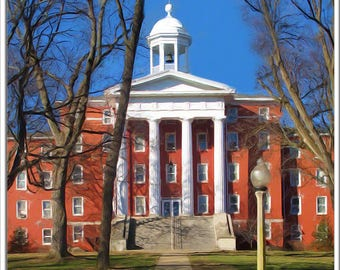 Myers Hall, Wittenberg University, Springfield Ohio