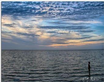 Blue Sunset, Sunset Beach, Tarpon Springs, Florida