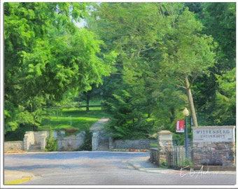 Welcome to Wittenberg University, Springfield Ohio