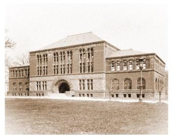 Vintage Hayes Hall, Ohio State University, Columbus, Ohio Download File