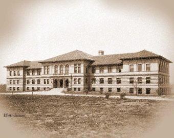 Vintage Townshend Hall, Ohio State University, Columbus, Ohio Download File