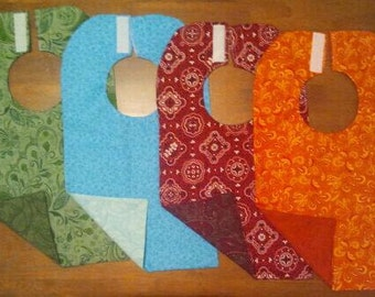 Reversible and Washable Baby Bibs