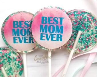 Cute Glitter Faux Candy 5 Star Lollipops #1030
