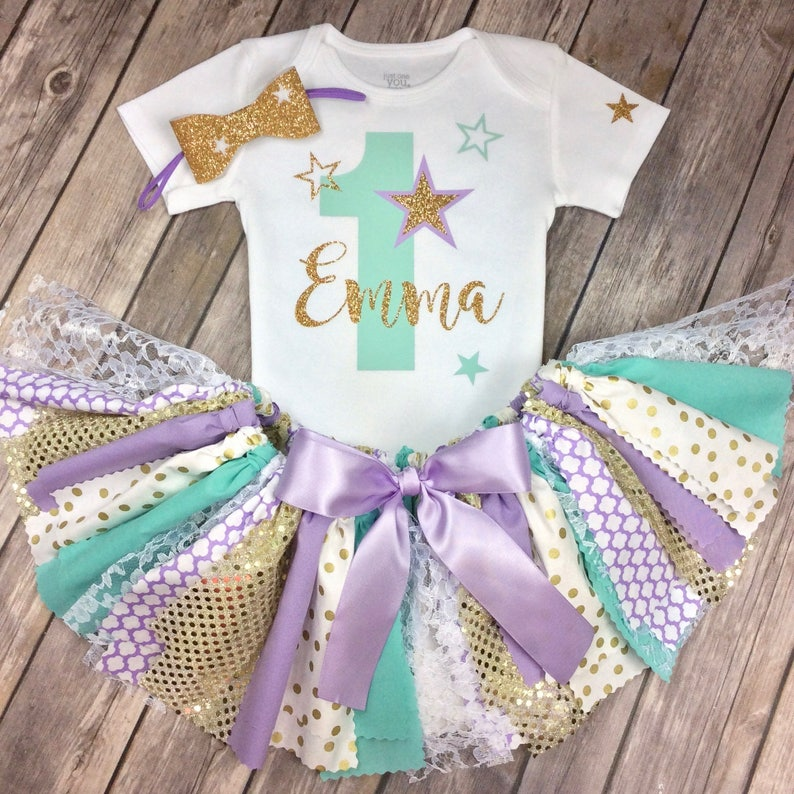 6c5f42eff Any Age Personalized Twinkle Twinkle Little Star Purple Teal | Etsy