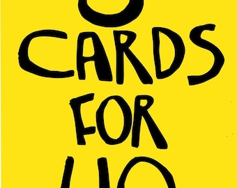 6 Cards for 10 pounds - Any 6 greetings cards - Mega Offer - Monsters - New Baby - Zombies - Dinosaurs - Funny - Humour - Rude - Birds - Ham