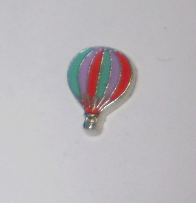 FLOATING CHARMS HOT AIR BALLOON USE WITH MEMORY GLASS LOCKET