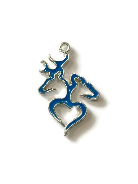 Blue Browning Heart Symbol Charmbrowning Heartbrowning Symbol