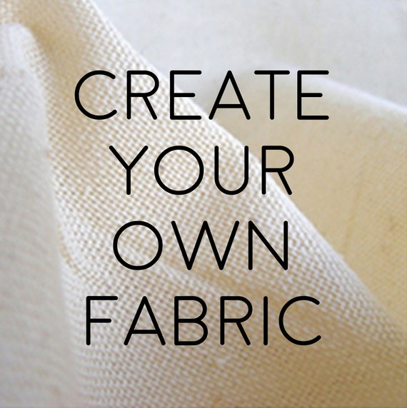 Custom Fabric Printing Create Your Own Image On The Fabric Of Etsy