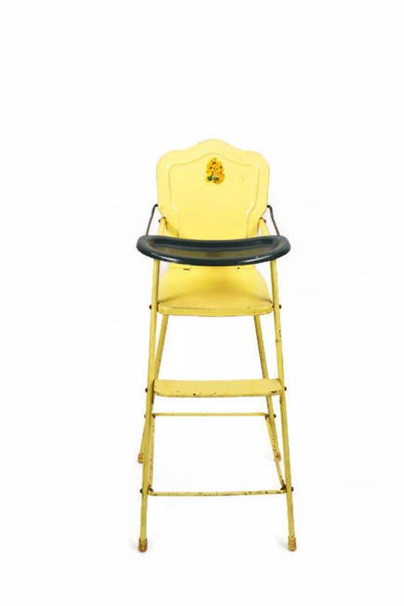 50 - Vintage Doll High Chair Doll FurnitureAMSCO High Chair Etsy